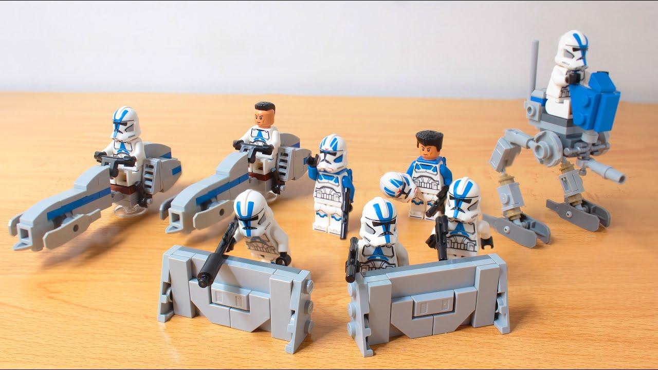 Lego Star Wars 501st UPGRADED