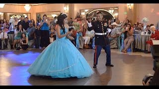 Military Dad's Dance Off Video with His Daughter Goes Viral