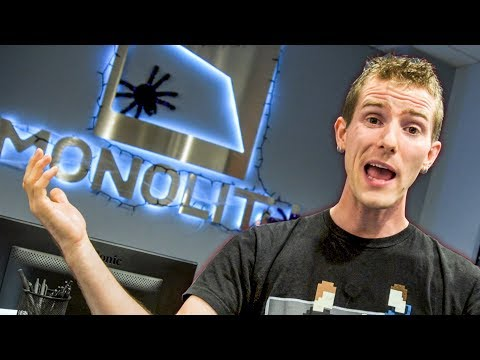 What's a Game Studio REALLY Like? - Monolith Productions Tour