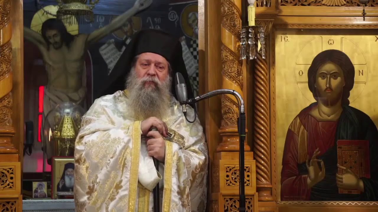 Κήρυγμα Γέροντος Γαβριήλ Εμμανουηλίδη, Ηγουμένου της Ι.Μ.Οσίου Δαυίδ, την  Κυριακή 13 Δεκεμβρίου 2020 - YouTube