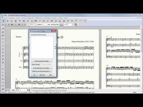 Finale 25 – Quicktipp Windows – Stimmenauszüge erstellen