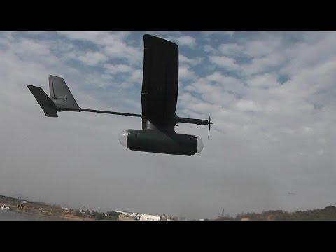 Sky Observer Long Range FPV Plane 3rd Flight with onboard camera