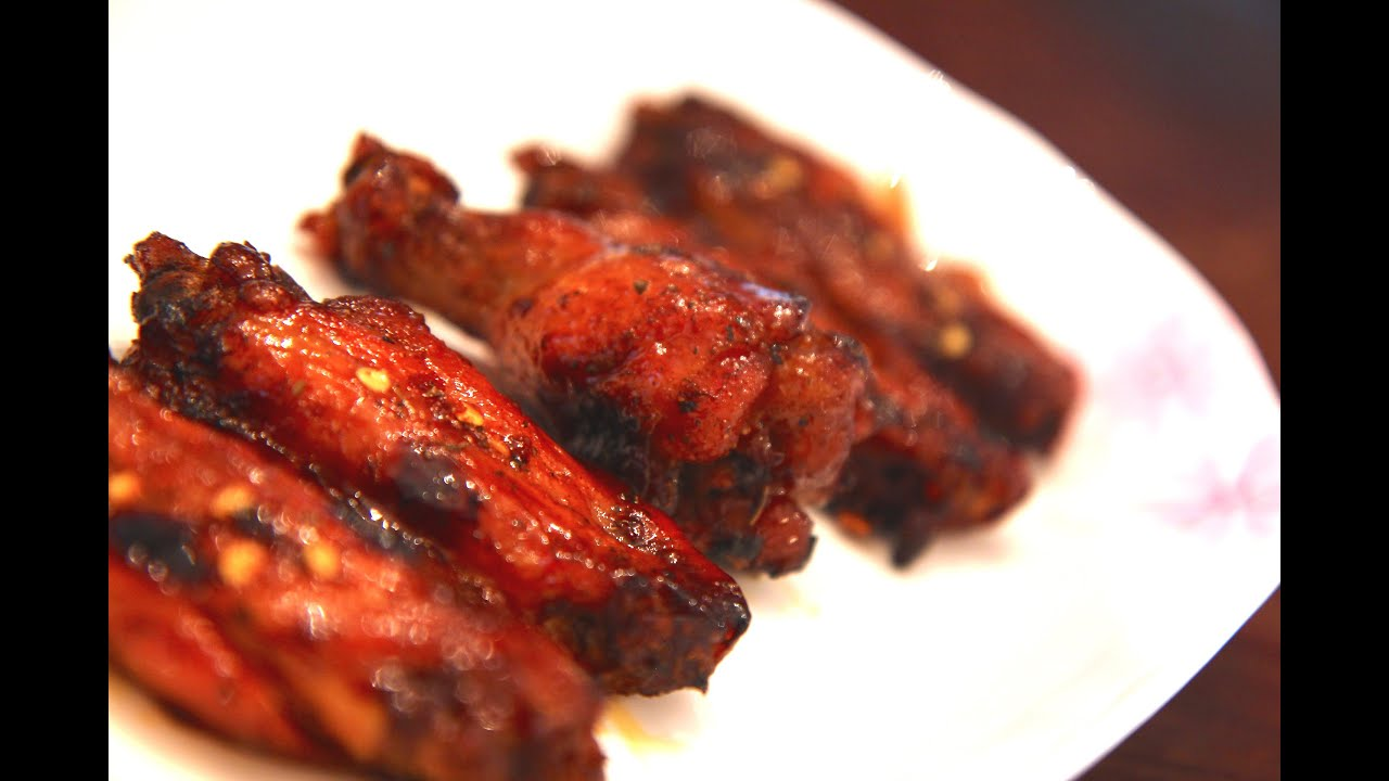 Braised coca-cola chicken wings recipe - uses authentic Chin..