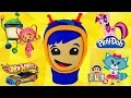 Mega Play Doh Team Umizoomi Geo Toy Egg Surprises Mylittlepony Julius Jr. Cars Hot Wheels video