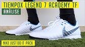 Adepto orquesta Granjero  Chuteira Nike Tiempo legend 7 Academy IC Futsal Unboxing - YouTube