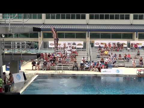 Boy's 14 18 3M Syncro Final - 2016 USA Diving Synchronized National Championships
