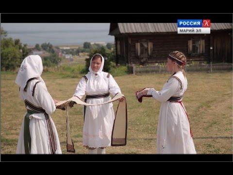 Экспонат – Марийская деревня