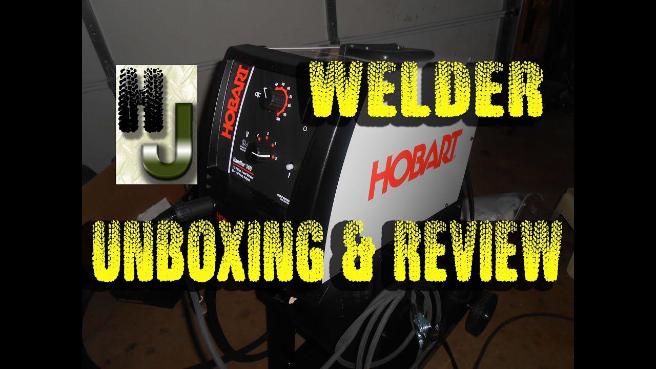 Hobart Handler 140 Review 2018 - MIG wire feed welder