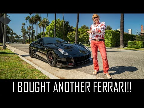 I BOUGHT ANOTHER FERRARI!!