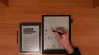 Onyx Boox M96 vs Sony Digital Paper (DPT-S1) Comparison Review Part 2