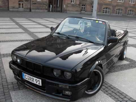 bmw e30 cabrio black beauty bmw klan chemnitz youtube. Black Bedroom Furniture Sets. Home Design Ideas