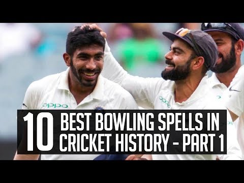 10 – Best Bowling Spells In Cricket History – Part 1