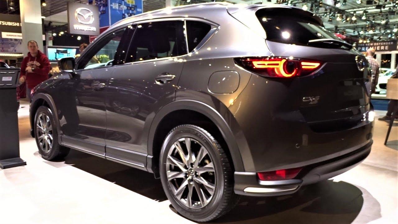 Mazda CX-5 Skyactiv-D tại Auto Show Brussel 2020