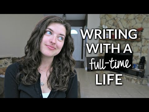How to Write with a Full-time Job/Life