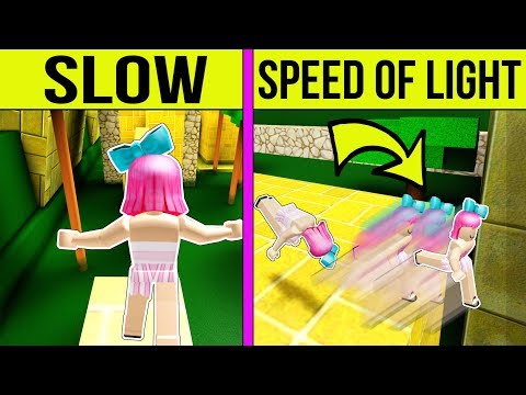 Roblox: PARKOUR AT THE SPEED OF LIGHT!!!