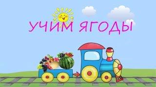 УЧИМ ЯГОДЫ/ Развивающий мультфильм для детей