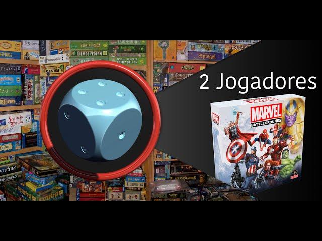 Marvel Battlegrounds - Variante para 2 Jogadores