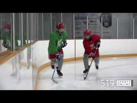 Holistic Hockey clinic on the fundamentals of body checking