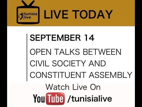 LIVE Constituent Assembly Talks to Civil Society
