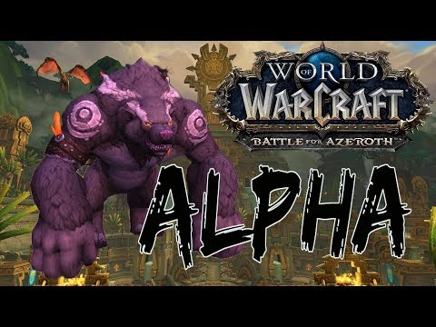 Battle for Azeroth Alpha: Atal'Dazar Dungeon and Zandalar Exploration (Guardian Druid PoV)