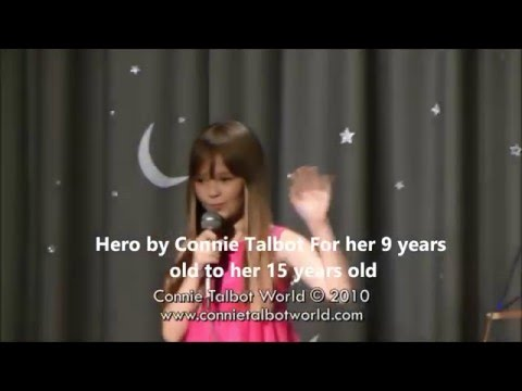 "Mariah Carey Hero - 9 to 15 years old -"" ConnieTalbot """