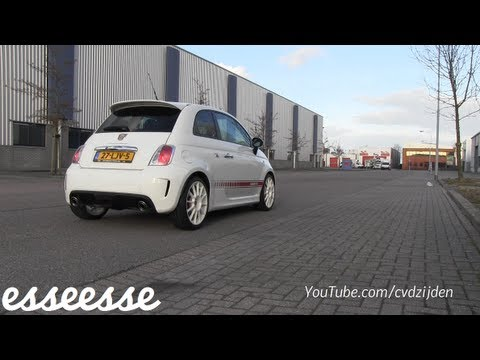 My Fiat 500 Abarth Esseesse - revving sounds, overview and fly ...