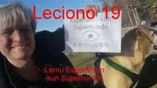 Lernu Espranton kun Superhundo! – Leciono 19
