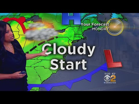 Cool, Cloudy Day Ahead Sunday
