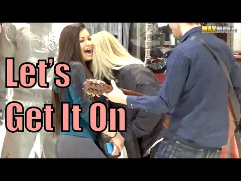 Picking Up Girls with Marvin Gaye, Let's Get It On - Maxmantv