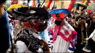 Chinelos de Santa Rosa xochiac 2015