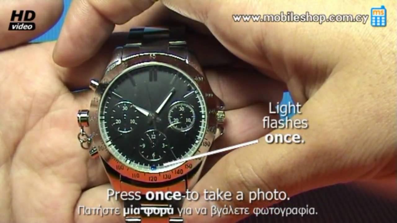 8gb spy watch instructions