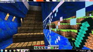 Minecraft: Big Blue House (third floor football pitch)