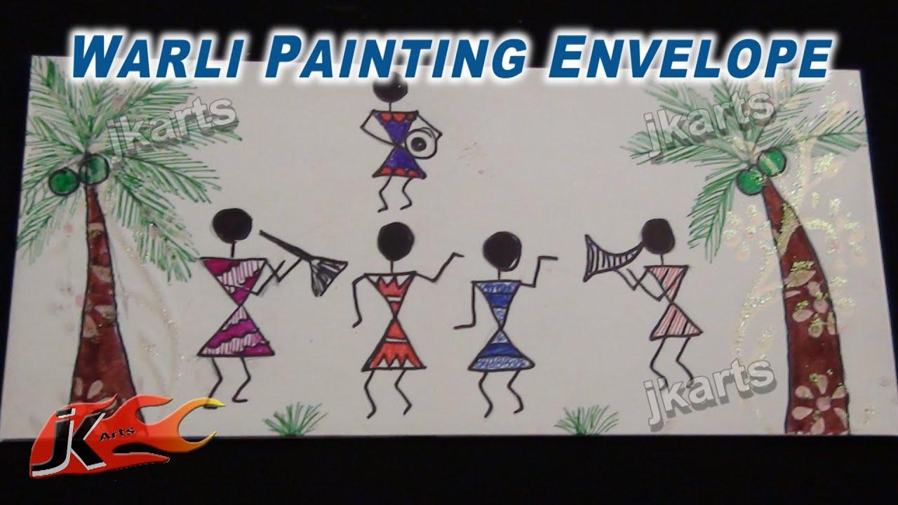 Warli Painting / Tribal Art / Warli Art Ideas | JK Craft ...