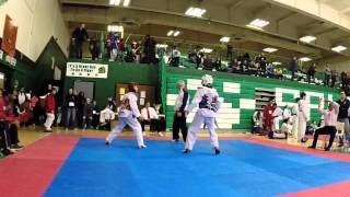 New Jersey State 14 Year Old Boys Welter Taekwondo Sparring