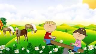Песни для детей. Для самых маленьких от 0 до 3 лет. Далеко далеко на лугу пасутся кони козы коровы