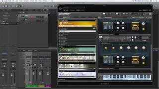 How to use Kontakt as a Multi-Output Instrument in Logic Pro X (Step-by-Step Tutorial)