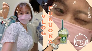 Fukuoka Vlog애니멀 카페,마늘까기