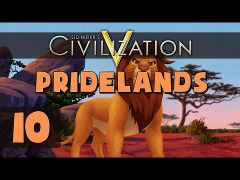 Civilization 5 Deity - Let's Play Pridelands - Part 10