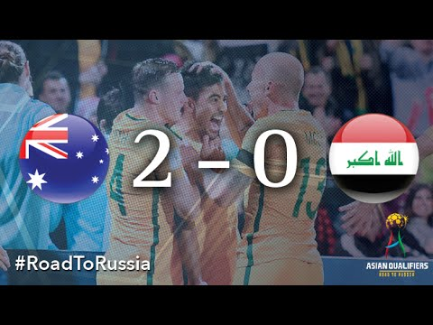 Resultado de imagem para Australia vs Iraq(Asian qualifiers - Road to Russia)