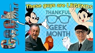 Thankful Geek Month - These Guys are LEGENDS! Video
