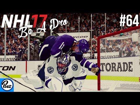 NHL 17 Be A Pro - Toronto Maple Leafs vs Tampa Bay Lightning Ep.64