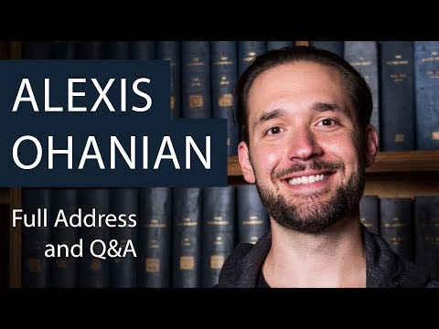 Alexis Ohanian | Full Talk and Q&A | Oxford Union