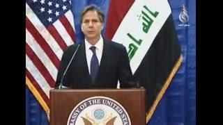 زيارة نائب وزير الخارجية الامريكية للعراق حول تحرير الموصل