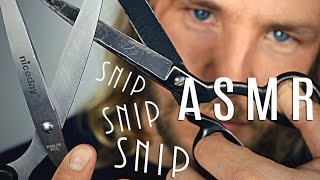 Video INTENSE SNIPS - ASMR ✮ Binaural Scissor Sounds download MP3, 3GP, MP4, WEBM, AVI, FLV Agustus 2017