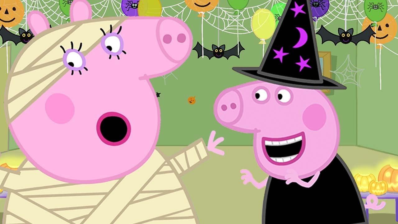 Boo Boo Song - Halloween - Peppa Pig Nursery Rhymes & Kids Songs 🐷🎃