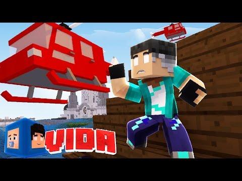 Minecraft : RESGATANDO REZENDE DO TSUNAMI !!! #193 (MINECRAFT VIDA )