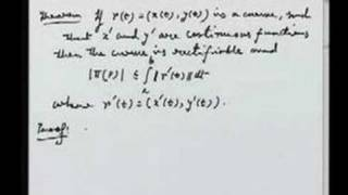 Lecture 20 - Length of a curve