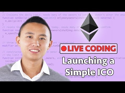 How to Launch a Simple ICO on Ethereum