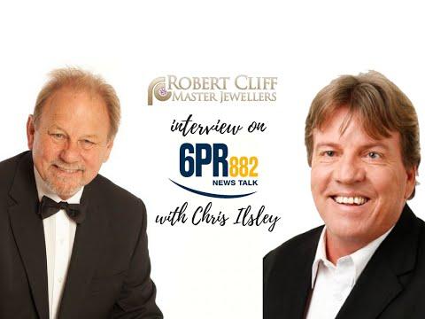 Robert Cliff interview with Chris Ilsley on 6PR radio