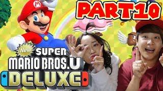 【Part10】マリオブラザーズをさとゆいでプレイしてみたらwww【NewスーパーマリオブラザーズUデラックス】